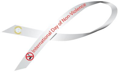 Ribbon International Day of Non-Violence