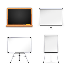 Set of Boards for Presentation