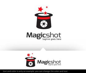 Magic Shot Logo Template Design Vector