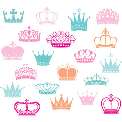 Crown Silhouette,Princess Crown