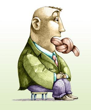 censorship of language humorous draw