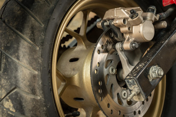 motorcycle disc brakes