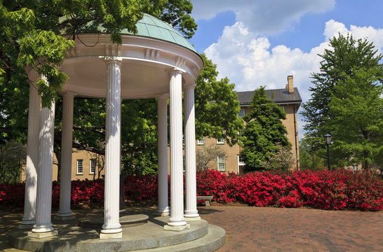 Old Well Historic Monument on the Campus of UNC at Chapel Hill