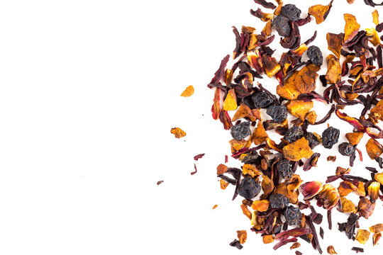 Dry fruit tea