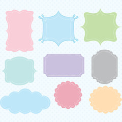 Label Frames Border Collections