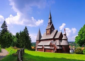 Goslar Stabkirche - Goslar stave church 01