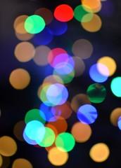Light colors bokeh