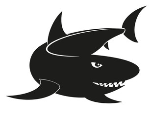Vector shark