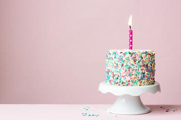 Wall Mural - Birthday cake