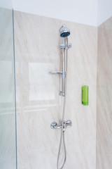 Shower in a gym