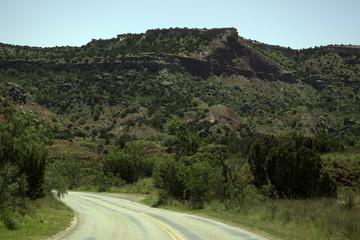 Road Through Palo Duro Canyon