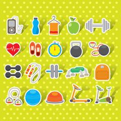 Gym icons