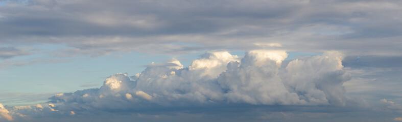 Big cloud on sky