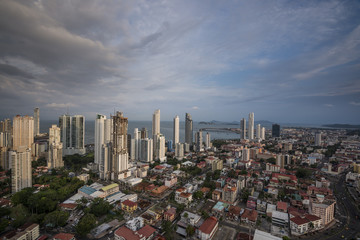 City skyline at Panama City, Central America