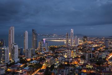 City skyline at Panama City, Central America