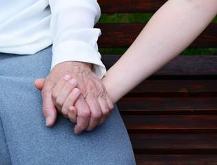 Alte Hände