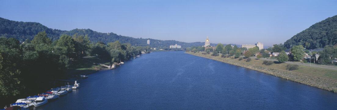 Kanawha River, Charleston, West Virginia