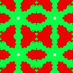 Abstract kaleidoscopic pattern.