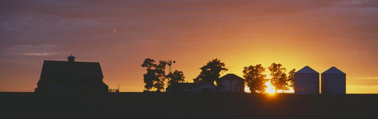Farm at Sunset, South Ritzville, Route 261, S.E. Washington