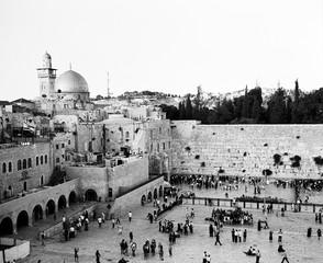 Western Wall On Shabbat