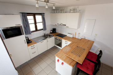 Modern kitche, in a house