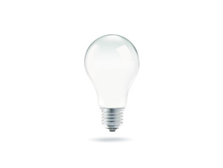 Bulb light with isolated on white background