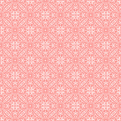 Floral traditional ornament, wedding seamless pattern, bacground design, vector illustration