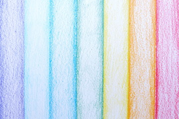 Stripe Pencil Color Rainbow Background