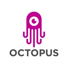 Octopus Logo Template