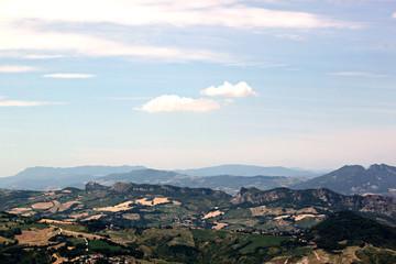 Прекрасный вид на Сан-Марино
