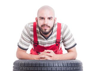 Friendly mechanic face
