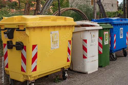 civil waste containers