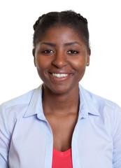 Portrait eine attraktiven Frau aus Afrika