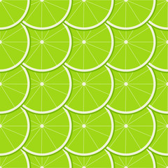 Lime Seamless Pattern.