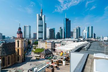 Frankfurt am Main im Sommer