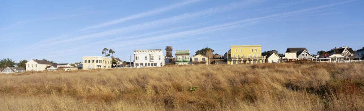 Coastal town, Mendocino, California