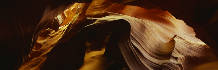 Detail of sandstone from Antelope Canyon