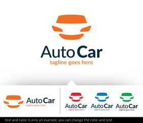 Auto Car Service Logo Template Design Vector