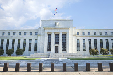 Federal Reserve building in Washington, DC