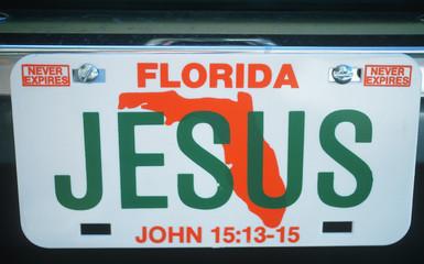 Vanity License Plate - Florida