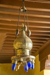 Oriental lamp in Marrakesh, Morocco