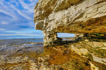 Wall Mural - Rock Arch at Cave Point