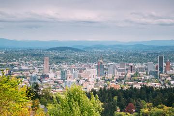 Portland, OR Cityscape