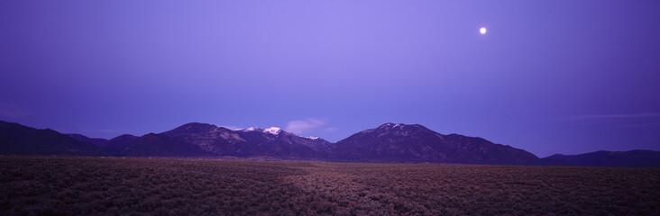 Sangre de Cristo Mountains At Sunset, Taos, New Mexico