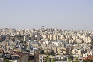 This is a photograph of the city of Amman in Jordan