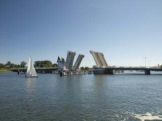 Seeblick auf die Brücke in Kappeln