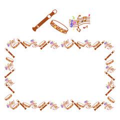 音楽フレーム