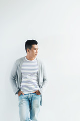 Stylish Asian guy