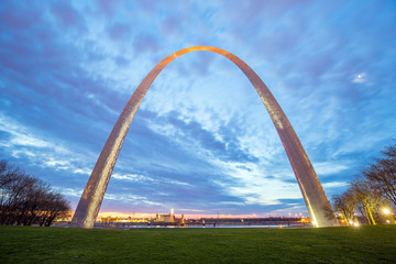 St. Louis Gateway Arch in Missouri