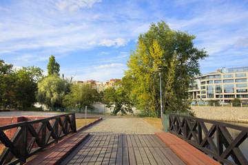 alley - a park - Wroclaw